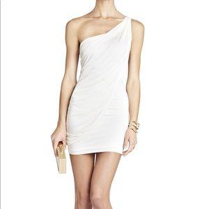 BCBGMAXAZRIA Sima One-Shoulder Dress